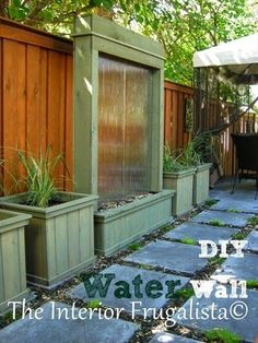 DIY -Water Wall