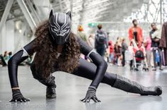 Black Panther      Cosplayed by Gathering Storm Cosplay, photographed by Gallagher Photography   Read More: Best Cosplay Ever (This Week) 08.29.16 | http://comicsalliance.com/best-cosplay-ever-this-week-08-29-16/?trackback=tsmclip
