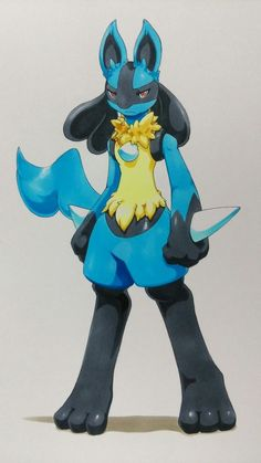 Image result for lucario and riolu