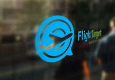 Flight Target Travel Agency by Super Pig Shop on Creative Market