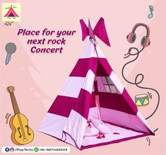 Kids Tents and Teepees for Sale by Playtents, India Kids Teepee Tent, Play Tents, Teepees, Turquoise Chevron, Green Chevron, Teepee For Sale, Kids Camping Tent, Childrens Tent, Small Shark