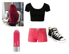 """""""Some red"""" by whiterose0211 on Polyvore"""