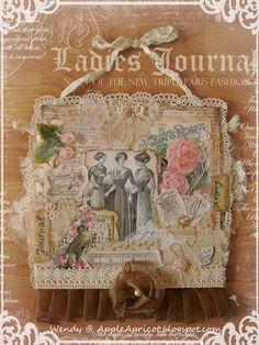 AppleApricot: Ladies' Journal - vintage collage