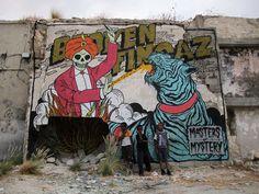 Risultati immagini per meat street art