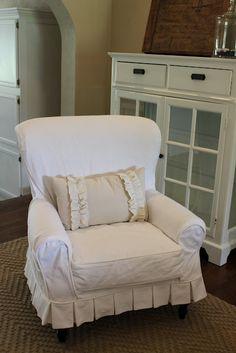 White Denim Slipcovers