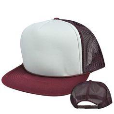 ffc524b26 Blank Mesh Trucker Hat/Cap - Baseball, Golf, Fishing - Royal/White ...