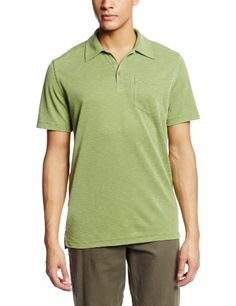 Royal Robbins Mens Desert Knit Short Sleeve Polo Shirt Evergreen Small -- Continue to the product at the image link. (This is an affiliate link) #CampingHikingClothes