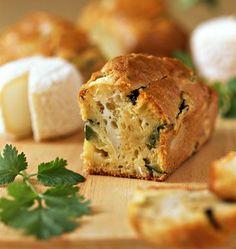 Zucchini and goat cheese cake - Ôdélices cooking recipes- Veggie Recipes, Cake Recipes, Cooking Recipes, Cake Chevre, Pizza Cake, Flaky Pastry, Zucchini Cake, Köstliche Desserts, Mini Cakes