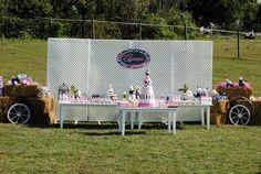 Karen Ayers (.com) farm party table