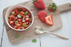 Vinagrete de morango | Panelinha - Receitas que funcionam