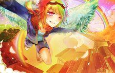 MLP: Rainbow Dash humanized #Hasbro #MLP #FiM My little pony friendship is magic