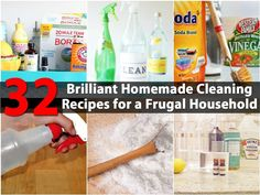 """Homemade or """"Green"""" cleaners are all the rage, particularly by people who are looking for safer ways to keep their homes clean without the use of harsh chemicals. There are so many recipes out there that it can be hard to find the one that you need for your specific cleaning..."""