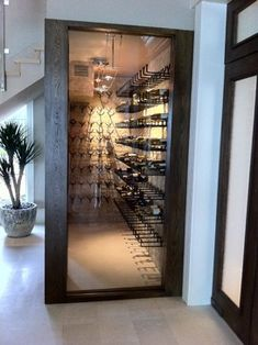 modern wine cellar. If we stay in Pac NW for retirement.
