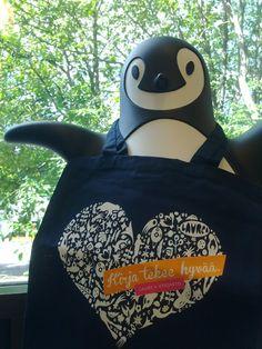 Pingy & Kirja tekee hyvää -kassi