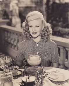 Ginger Rogers from the film Heartbeat, 1946