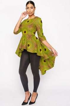 From bold women's clothes to unique accessories, discover the latest trends in ankara print fashion at Kuwala. African American Fashion, Latest African Fashion Dresses, African Print Dresses, African Print Fashion, African Dress, Fashion Prints, African Blouses, African Tops, African Attire