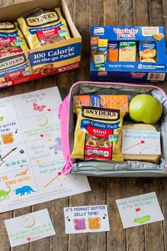 Pack with Love with Back to School Lunch Box Notes and show your kids some extra love during lunchtime.  These sweet lunch box notes and wholesome, delicious snacks will leave your kids happy and delighted! AD #PackWithLove | Strawberry Blondie Kitchen.