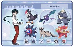 Seiya trainer card