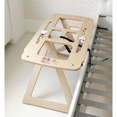 Bednest stand secured to bed Amazing Co, Bedside Bassinet, Baby Play, Baby Sleep, Drafting Desk, Baby Room, Bali, Stuff To Do, Storage