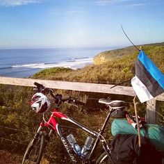 Good morning Bells Beach! One of the best surf spot in the world! Last time I was here in April. Between now and then I have been in Europe Mt.Hotham Tasmania Hawaii Canada and now back in Australia. First day done -125km! Great Ocean Road is in action now!  #adventure #Australia #greatoceanroad #cycling #touring #neverstopexploring #simplelife #Estonian #Eesti #eestlane #tedsuurkivi by stoneted http://ift.tt/1KnoFsa