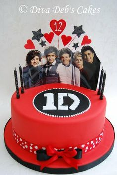 1 direction birthday cake - Google Search