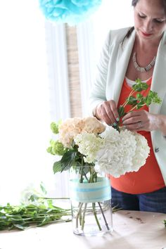 How to style floral arrangements