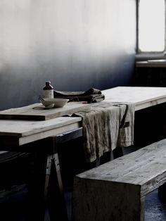 wood & grey