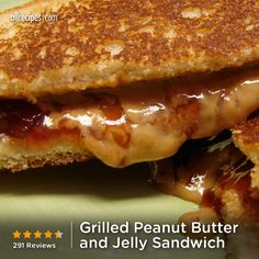 "Grilled Peanut Butter and Jelly Sandwich | ""My kids have always been a fan of PB Having it grilled was the best ""something extra"" ever. Grilled PB has become a family treat."""