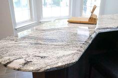 silver cloud granite - Google Search Granite Flooring, Countertops, Floor Design, House Design, Black Granite, Shag Rug, New Homes, Google Search, Cloud