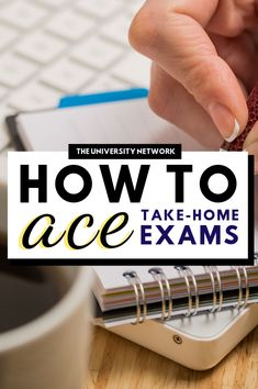 Even though take-home exams may sometimes seem like an easy opportunity for an A, in reality, they require just as much attention, preparation and dedication as normal exams. Here are 8 ways to ACE your next take-home exam! College Packing, College Hacks, College Motivation, Study Motivation, College Survival Guide, College Club, Exams Tips, College Students, Law Students