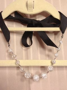 Glass+Ribbon+Necklace+Collection+One+by+LynzieandCoco+on+Etsy,+$20.00