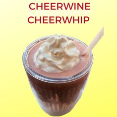 A Cheerwine kick for Dole Whip lovers!  INGREDIENTS: 2 scoops vanilla ice cream 8 ounces of Cheerwine 2 cups frozen pineapple chunks  Optional: 2 oz. Dark Rum  Instructions: Blend everything together, pour into glass, and top with whipped cream. Vanilla Ice Cream, Whipped Cream, Cocktail Drinks, Cocktails, Frozen Pineapple, Southern Recipes, Cooking Tips, Rum, Beverages