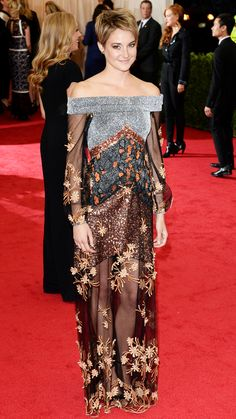 2014 Met Gala Red Carpet - Shailene Woodley from #InStyle