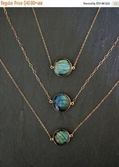 SALE Labradorite Necklace // Labradorite by TheRockStarGoddess