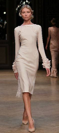 Georges Hobeika FW 2011/2012 - sophisticated reception dress