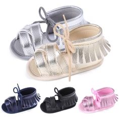 edac516799a1cd 2017 Fashion Baby Girls Shoes First Walkers Tassel Fringe Soft Non slip  Crib Baby Shoes Newborn Baby Moccasin Shoes 0 18M-in First Walkers from  Mother ...