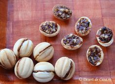 fursecuri nuci foto Dessert Recipes, Desserts, Garlic, Ice Cream, Vegetables, Breakfast, Food, Decor, Tailgate Desserts