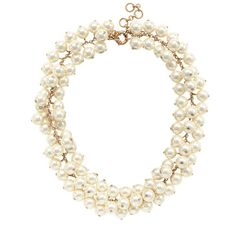 Pearl cluster necklace - necklaces - Women's jewelry - J.Crew