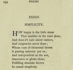 Simplicity by Emily Dickinson