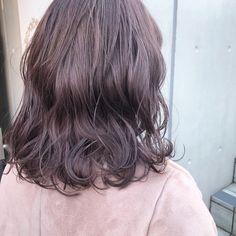 Girl Hair Colors, Hair Dye Colors, Medium Hair Cuts, Medium Hair Styles, Long Hair Styles, Violet Hair, Purple Hair, Ash Hair, Hair Looks