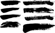 붓터치 텍스쳐 S181019, sjhoya, 일러스트, 붓, 붓글씨, 스트로크, 텍스쳐, 세트, 수묵, 블랙, 검정색, 거친, 터치, 패턴, 회화, 번짐, 효과, 서예, 질감, 캘리그래피, 배경, 자국, 붓터치, 먹물, 먹 Distressed Texture, Sticker, Stock Photos, Stickers, Decal