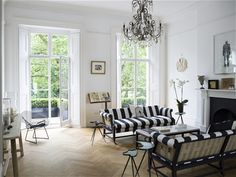 Old and new: the modern interior of an 1840s London town house - Telegraph