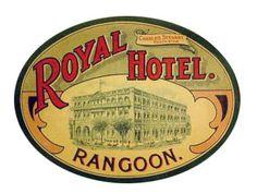 Royal Hotel Rangoon Myanmar