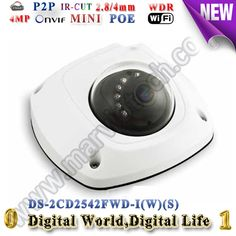 173.85$  Buy here - http://ali3yo.worldwells.pw/go.php?t=32753501524 - DS-2CD2542FWD-IWS Audio 4MP WDR Mini Dome Network ip Camera poe WIFI better ds-2cd2532f-is ds-2cd2532-i ds-2cd2532f 2cd2532f 173.85$