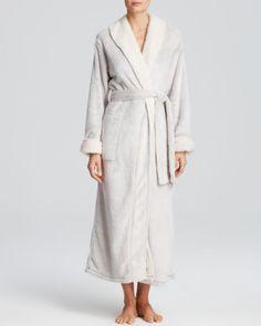 Natori Sherpa Robe | Bloomingdales's - in gray!