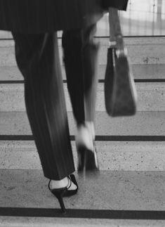 Celine, Minimalist Fashion, Minimalist Style, Black And White Pictures, Black White, Pinstripe Pants, Slingback Pump, Rag And Bone, Beach Babe