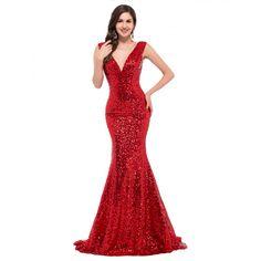 15 najlepších obrázkov na nástenke Červené spoločenské šaty na ... aa7c7fc9102