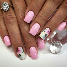 Want to know how to do gel nails at home? Learn the fundamentals with our DIY tutorial that will guide you step by step to professional salon quality nails. Fabulous Nails, Gorgeous Nails, Pretty Nails, Acrylic Nail Designs, Nail Art Designs, Flamingo Nails, Cute Pink Nails, Latest Nail Art, Beautiful Nail Designs