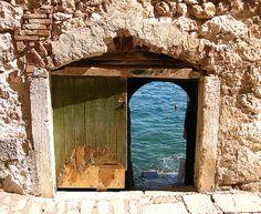 Die Tür zum Meer