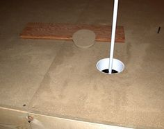 How to build and indoor putting green 4 | Man cave | Pinterest ...